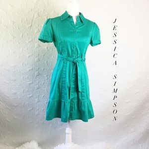 Jessica Simpson   Fitted Shirt Dress Size 6